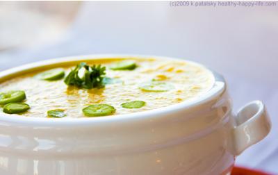 vegan carrot ginger jalapeno soup