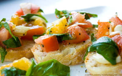citrus bruschetta recipe