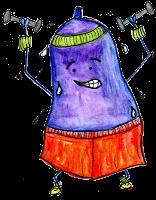 exercise eggplant