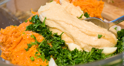 sweet potato mash bowl