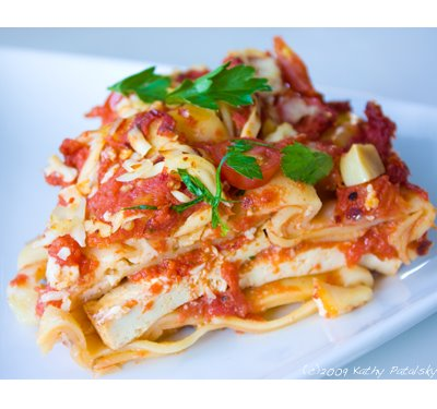 Lasagna Rosso Classico With How To Slideshow Vegan