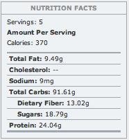 Speedy Cheezy Protein Pasta Bowl