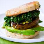 shamrock breakfast sandwich
