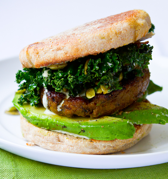 shamrock breakfast sandwich