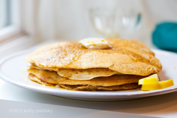 As Panquecas Vegan De Limão Mais Adoráveis.  Café da manhã com comida caseira. 104