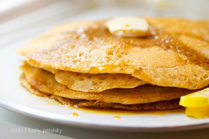 As Panquecas Vegan De Limão Mais Adoráveis.  Café da manhã com comida caseira. 86