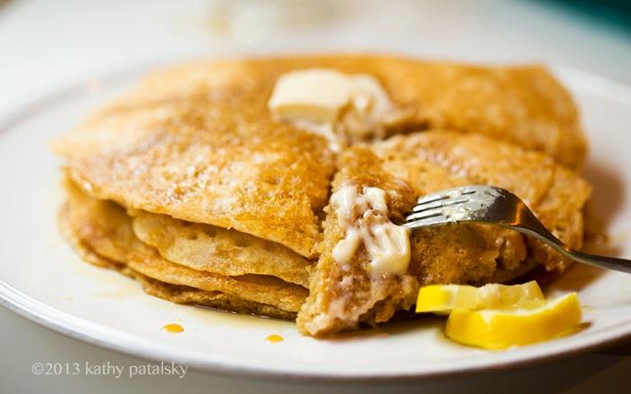 As Panquecas Vegan De Limão Mais Adoráveis.  Café da manhã com comida caseira. 112