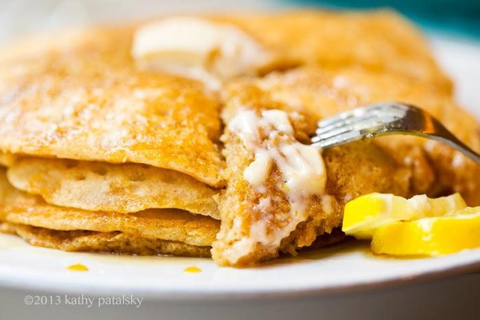 As Panquecas Vegan De Limão Mais Adoráveis.  Café da manhã com comida caseira. 90