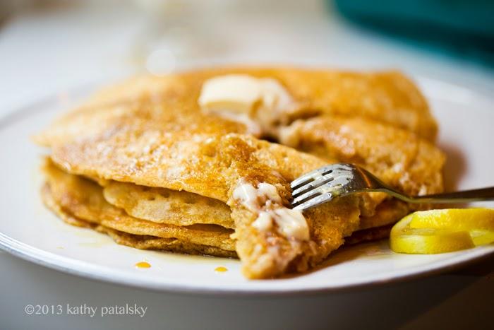 As Panquecas Vegan De Limão Mais Adoráveis.  Café da manhã com comida caseira. 110