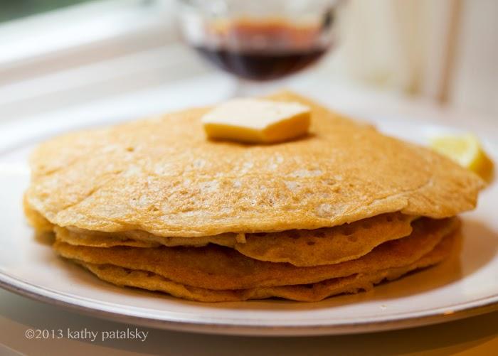 As Panquecas Vegan De Limão Mais Adoráveis.  Café da manhã com comida caseira. 82