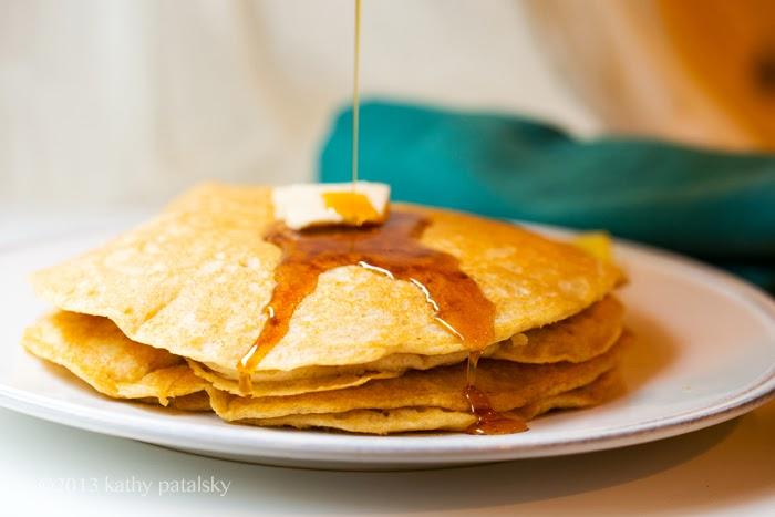 As Panquecas Vegan De Limão Mais Adoráveis.  Café da manhã com comida caseira. 84