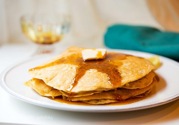 As Panquecas Vegan De Limão Mais Adoráveis.  Café da manhã com comida caseira. 102