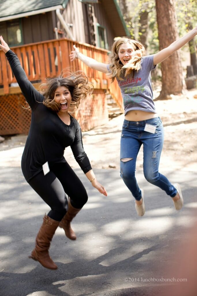 bloggers who jump together, have fun together