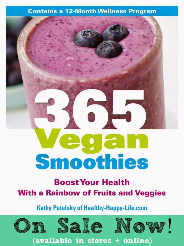 365 vegan smoothies book by kathy patalsky