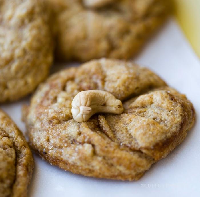 Cashew Butter Vegan Gluten-Free Cookies