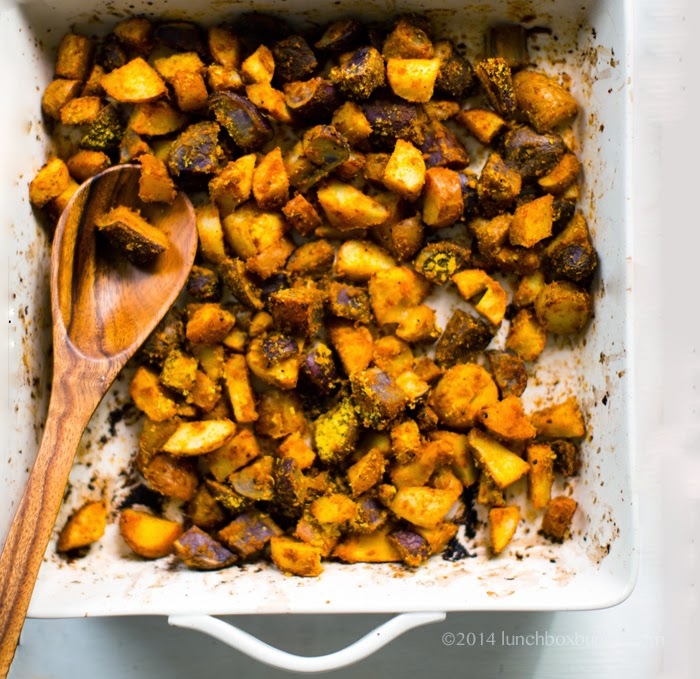 Lemon-Pepper Cheezy Crispy Roasted Potatoes