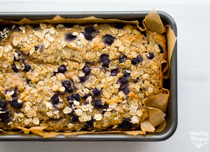 Butter-Topped Blueberry Muffin Loaf