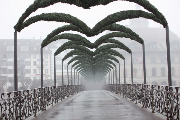 another beautiful bridge in lucerne