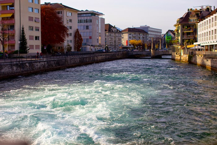 aqua water in Thun