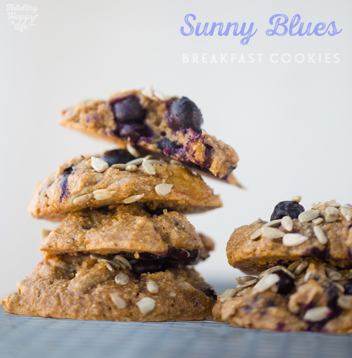 Sunny Blues Breakfast Cookies