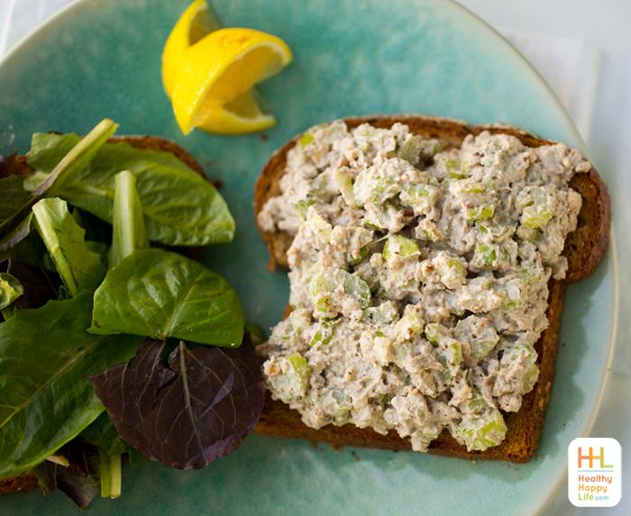 "vegan ""tuna"" salad sandwich"