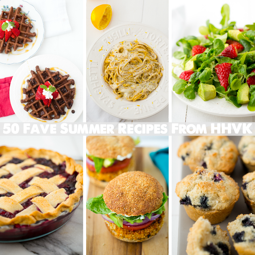 50 Summer Recipes from Healthy Happy Vegan Kitchen