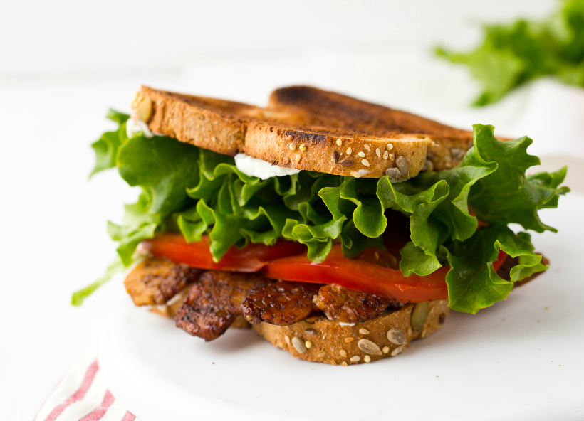 Dad's BLT! from Healthy Happy Vegan Kitchen