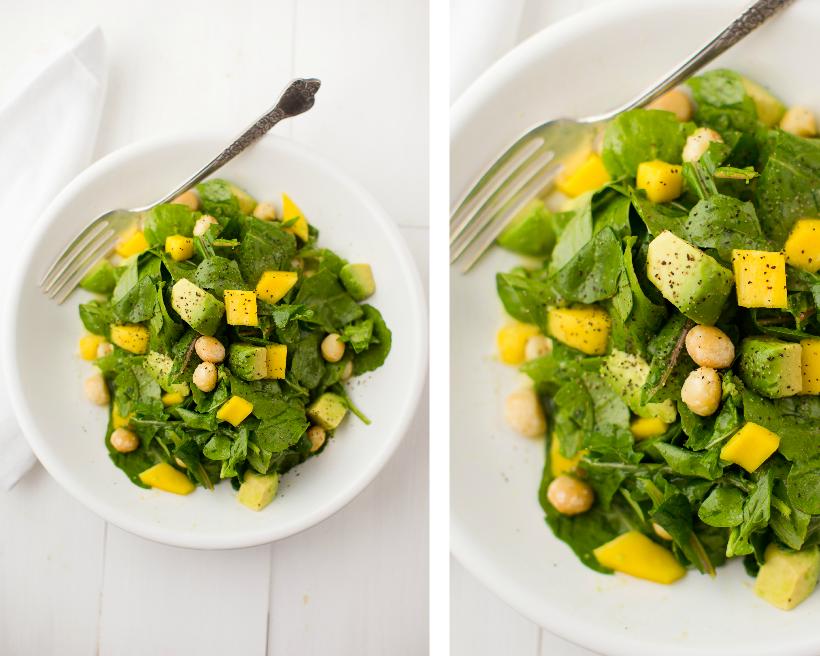 Avocado Mango Salad from Healthy Happy Vegan Kitchen