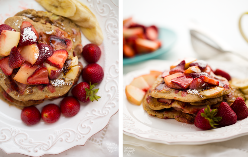 Berry Pancakes from Healthy Happy Vegan Kitchen