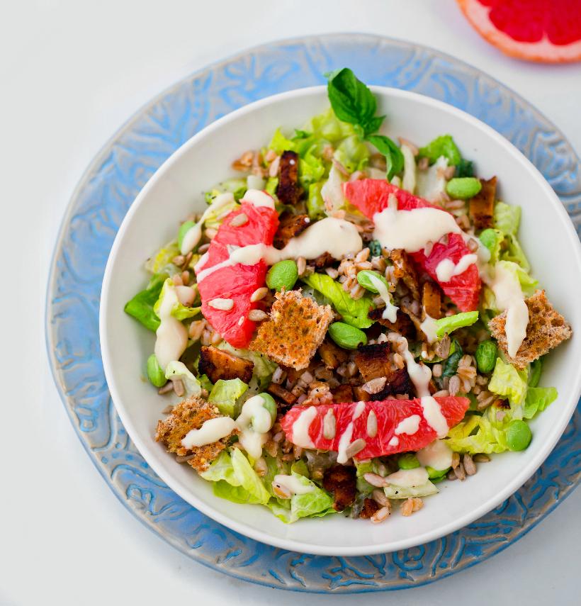 Summer Caesar Salad from Healthy Happy Vegan Kitchen
