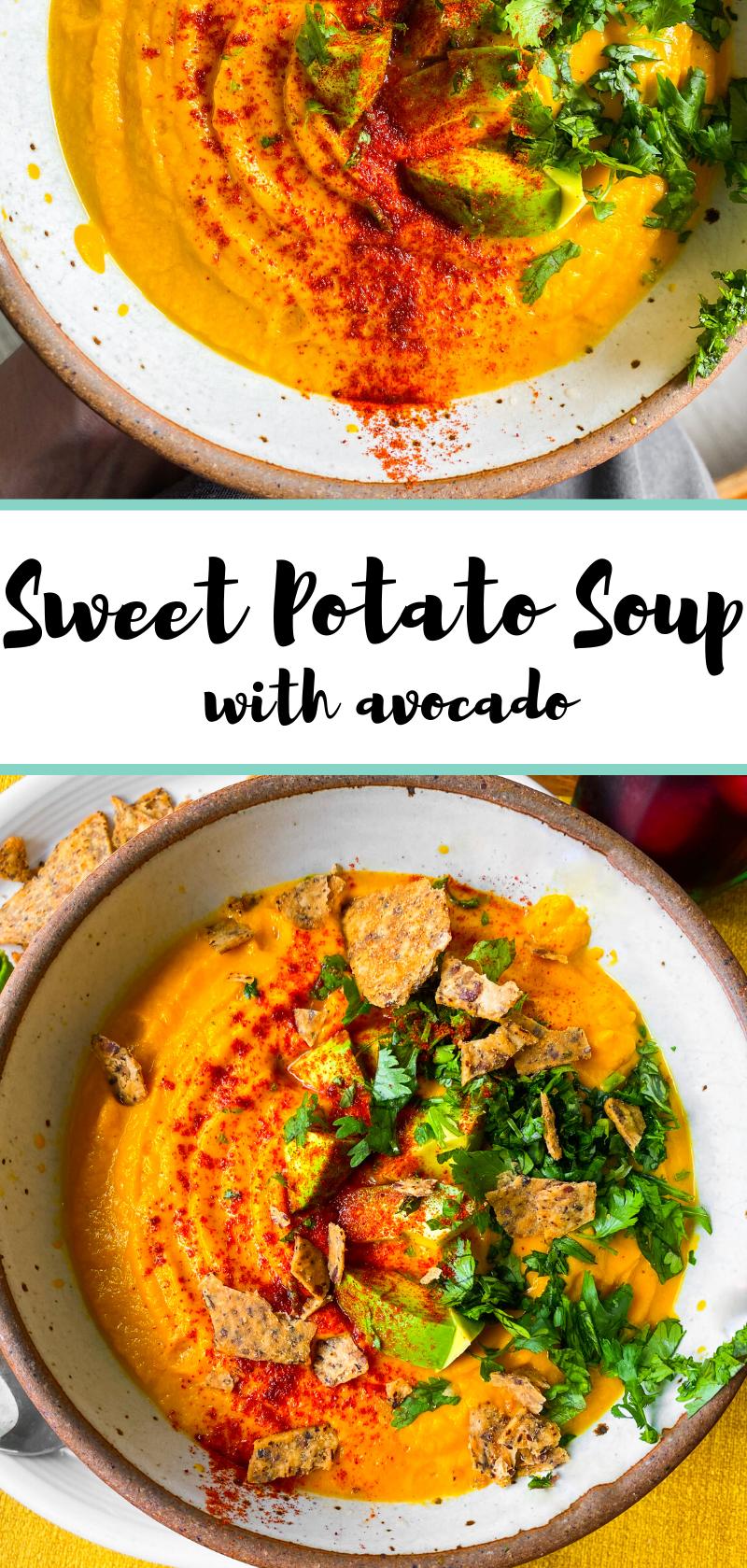 sweet potato soup pin