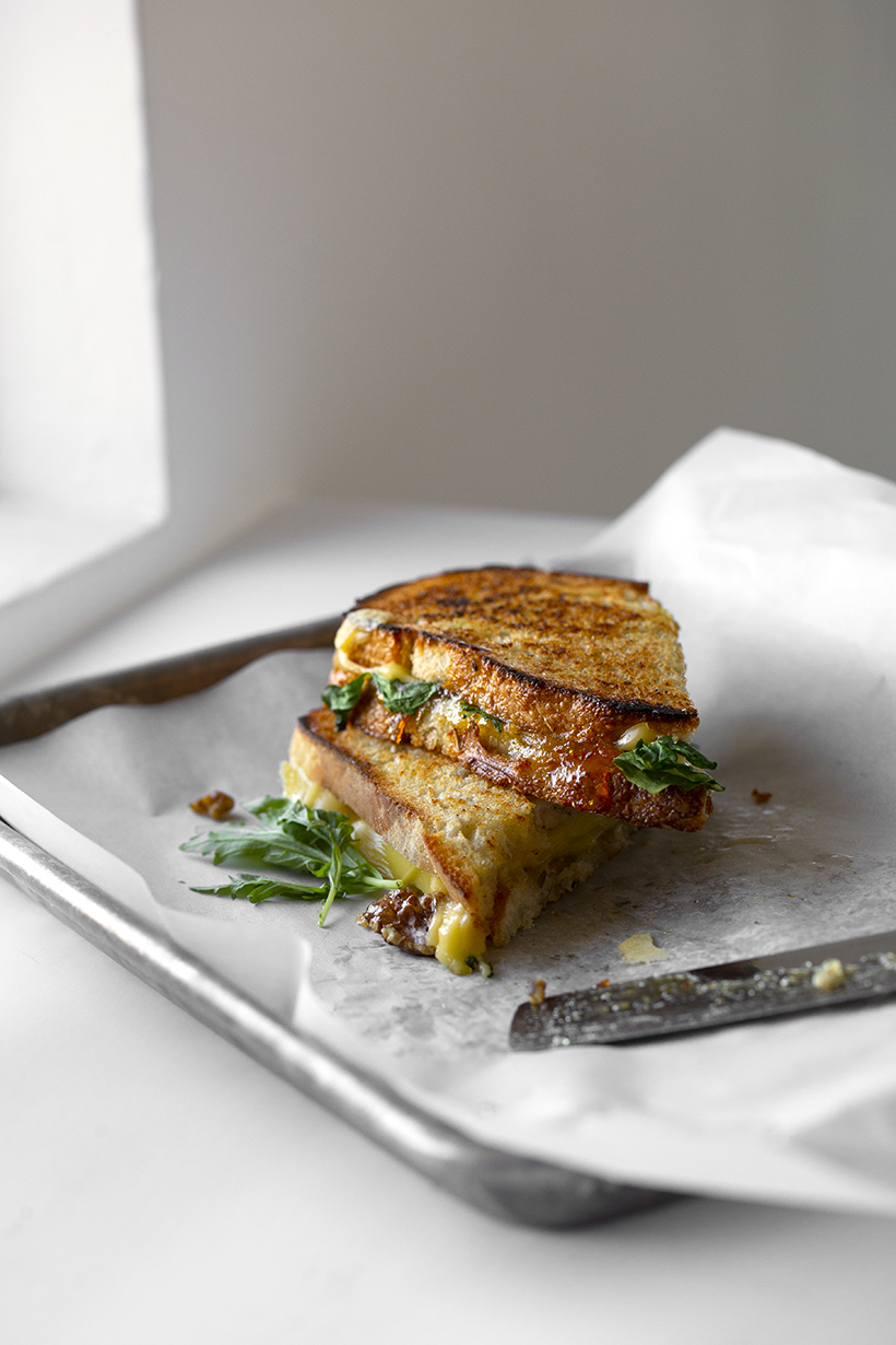 gouda grilled cheese