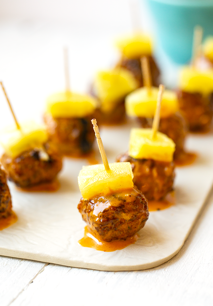 vegan cocktail meatballs