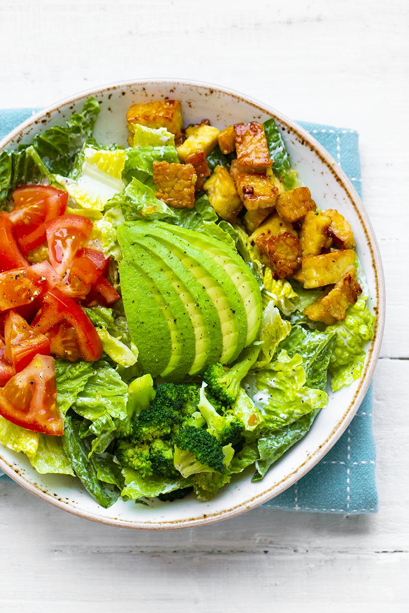 blt vegan salad