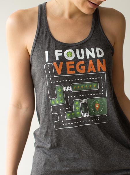 finding vegan tank