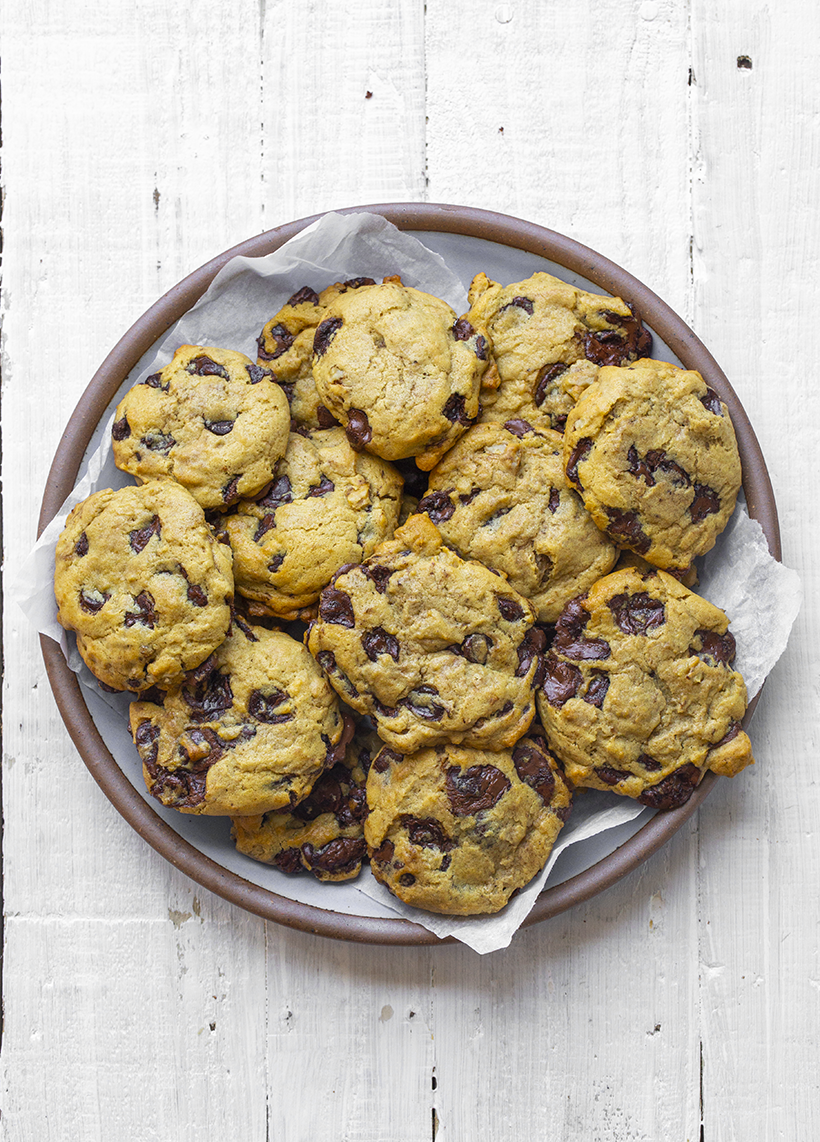 Softy Chocolate Chip Cookies
