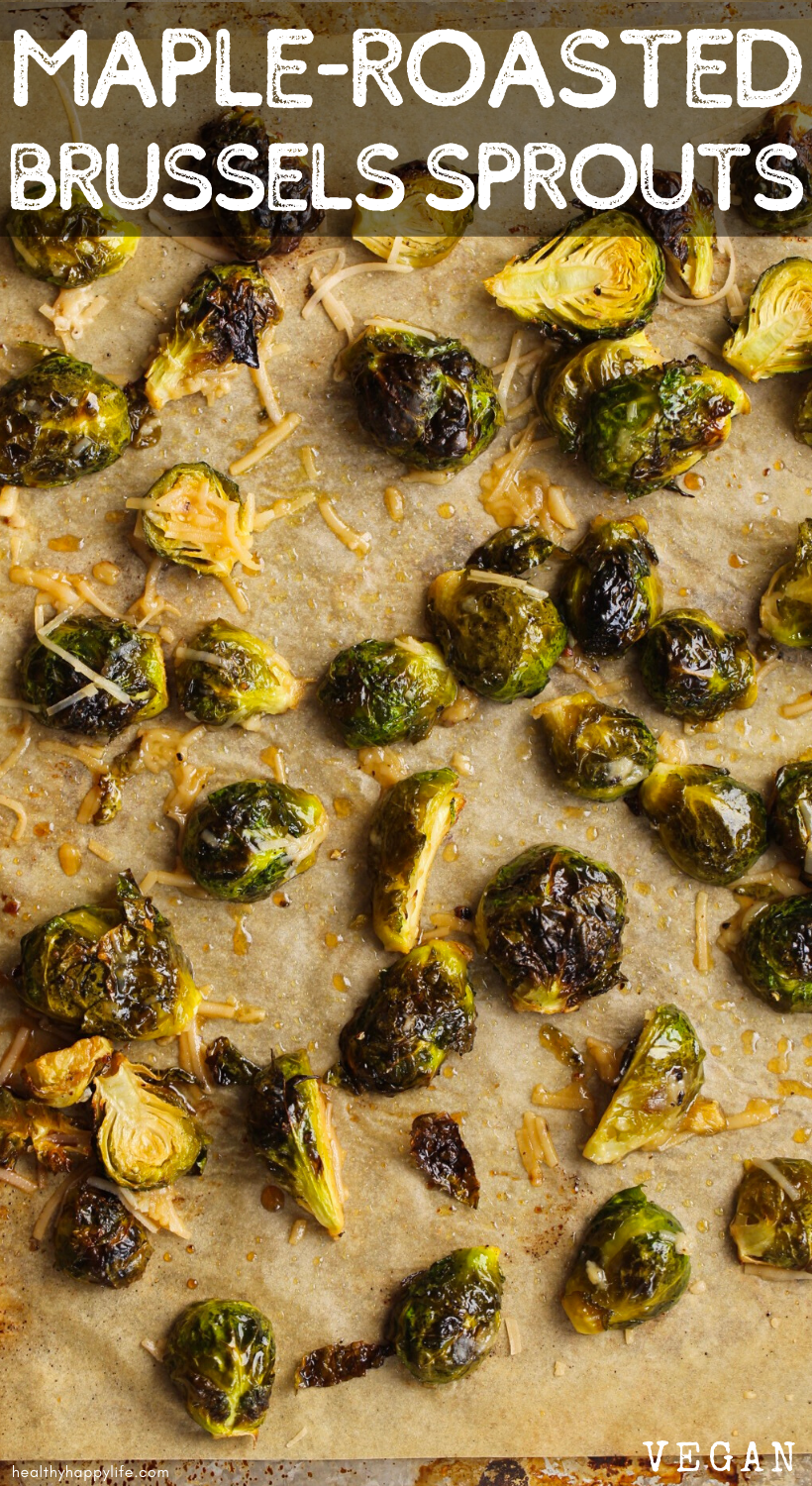 roasted brussels sprouts pin