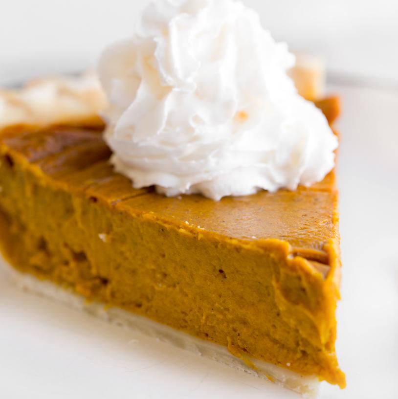 Simple Vegan Pumpkin Pie Healthyhappylife Com