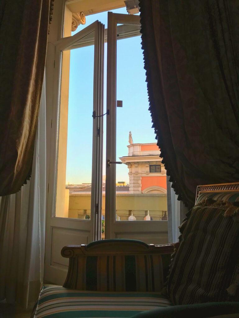 westin rome window