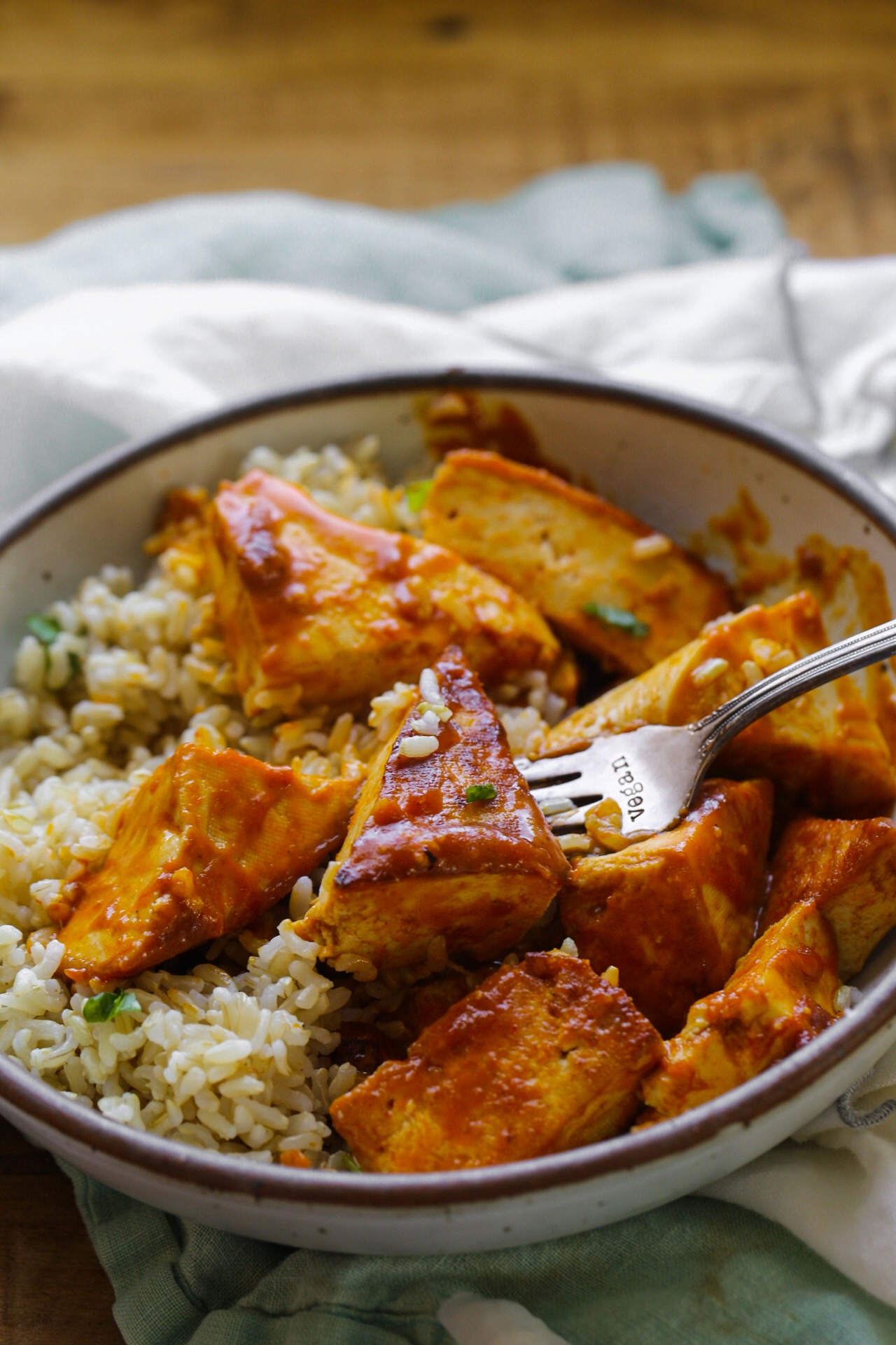 curried tofu