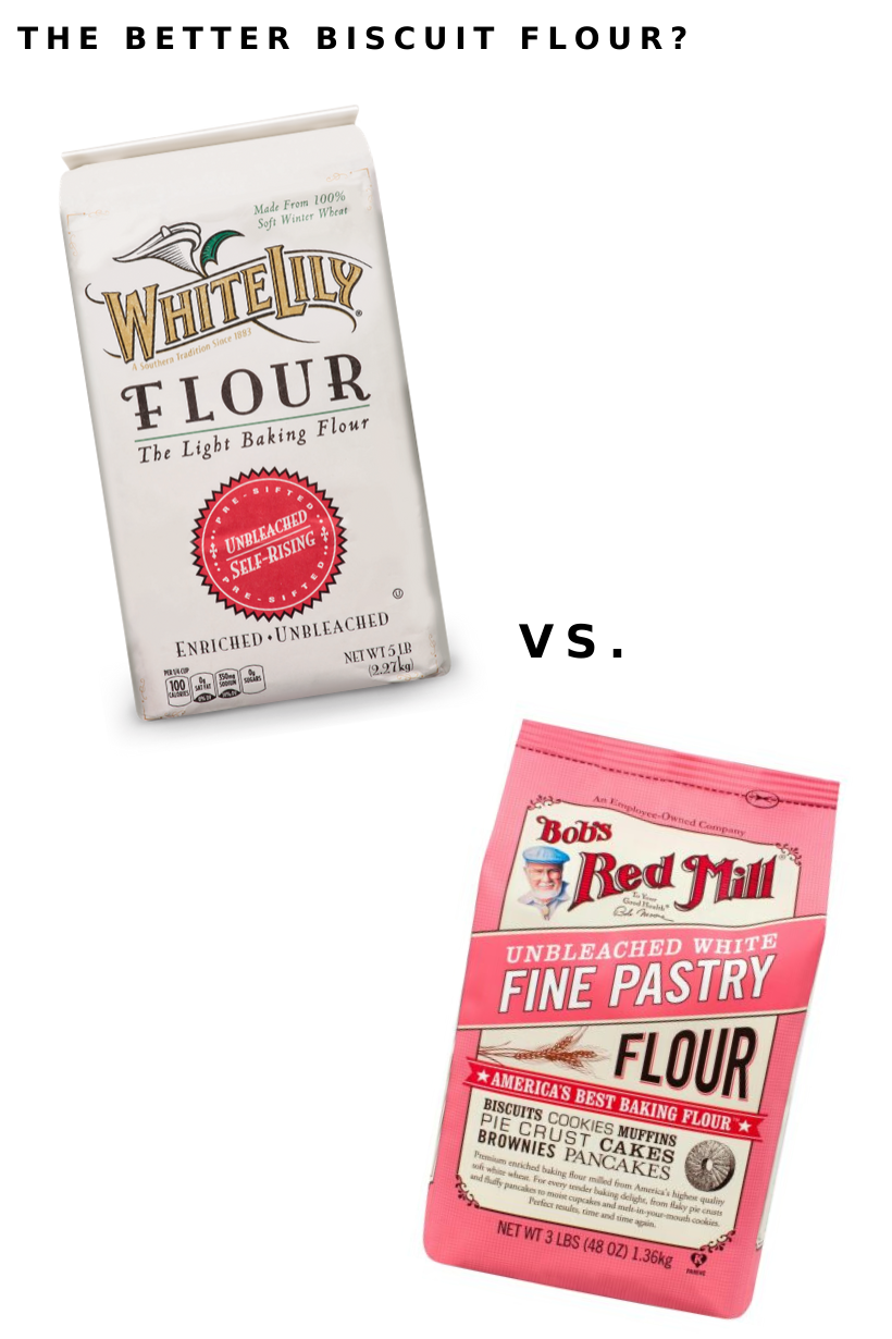 biscuit flours white lily vs bob's red mill
