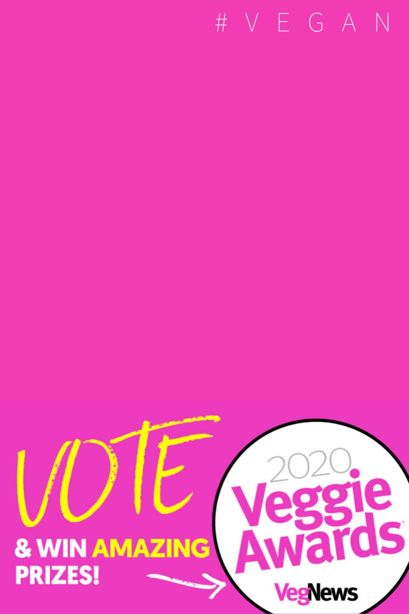 2020 veggie awards pink