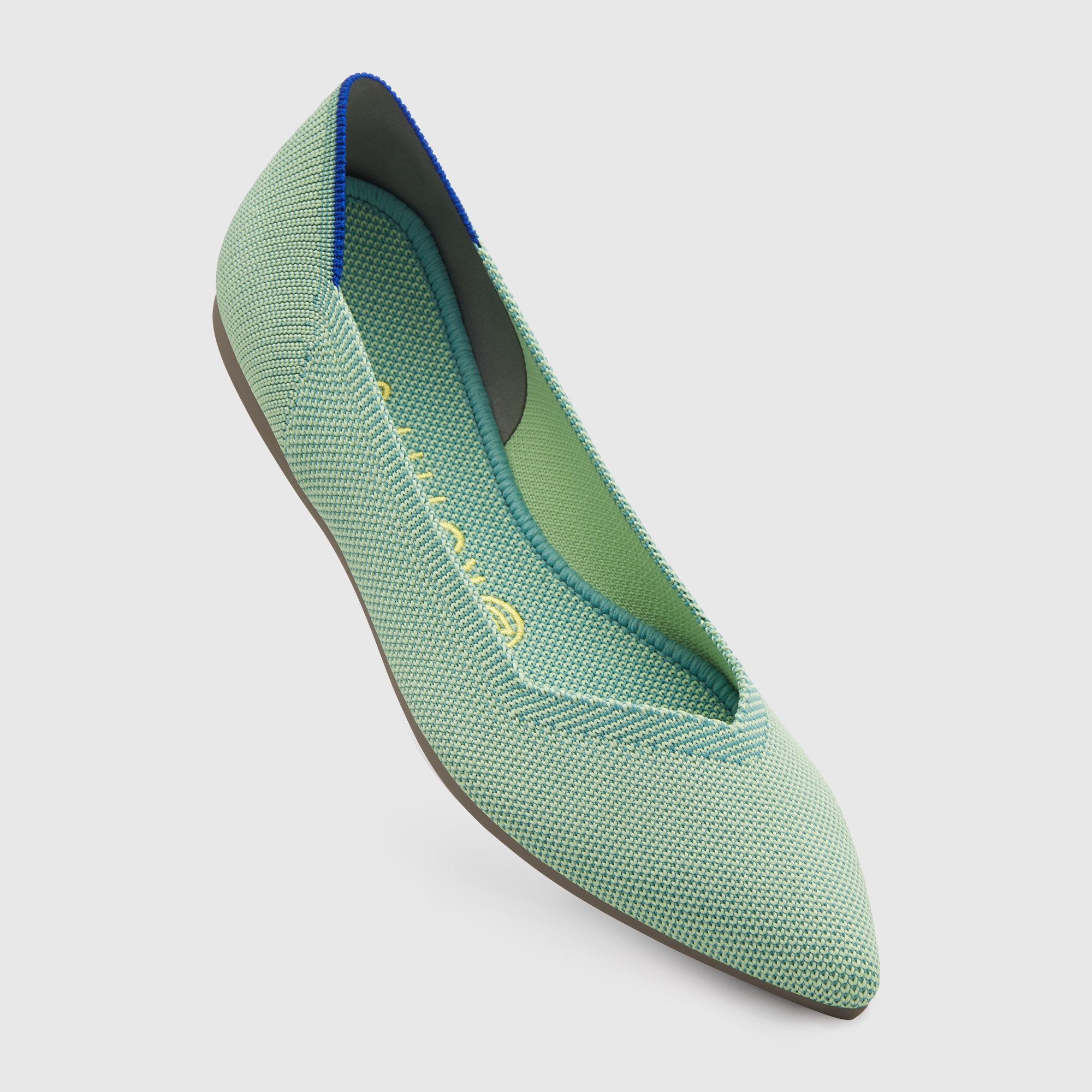 mint the point shoes rothy's