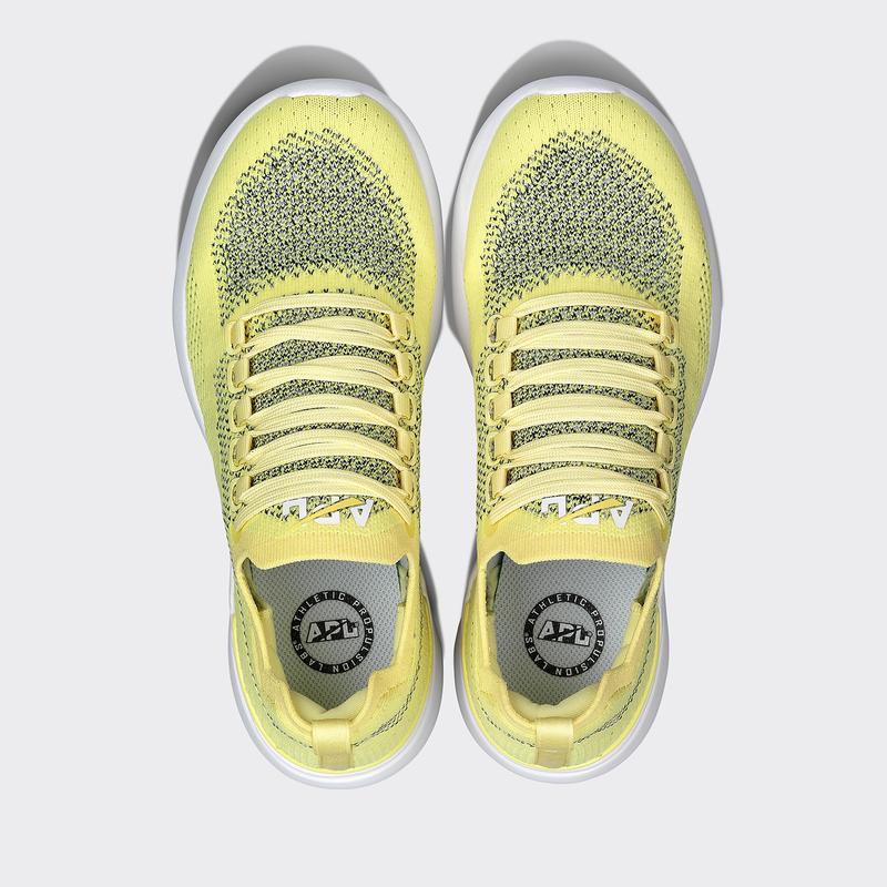 sunshine yellow apl sneakers