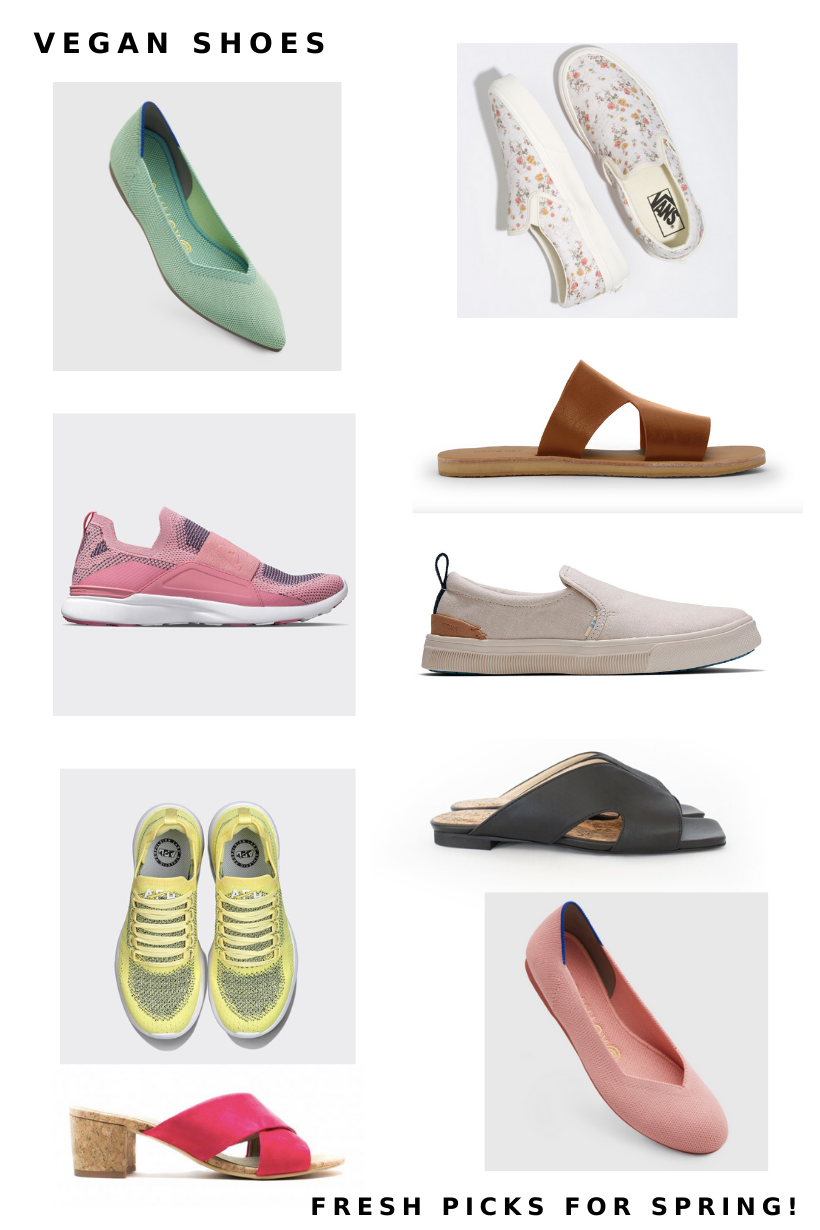 10 Vegan Shoes for Spring 2020