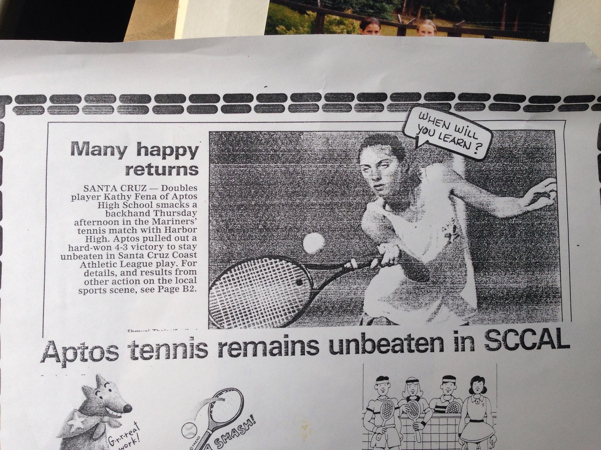 kathy patalsky high school tennis aptos high