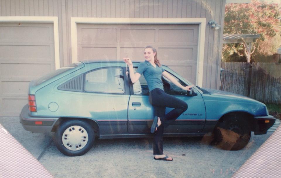 my first car...