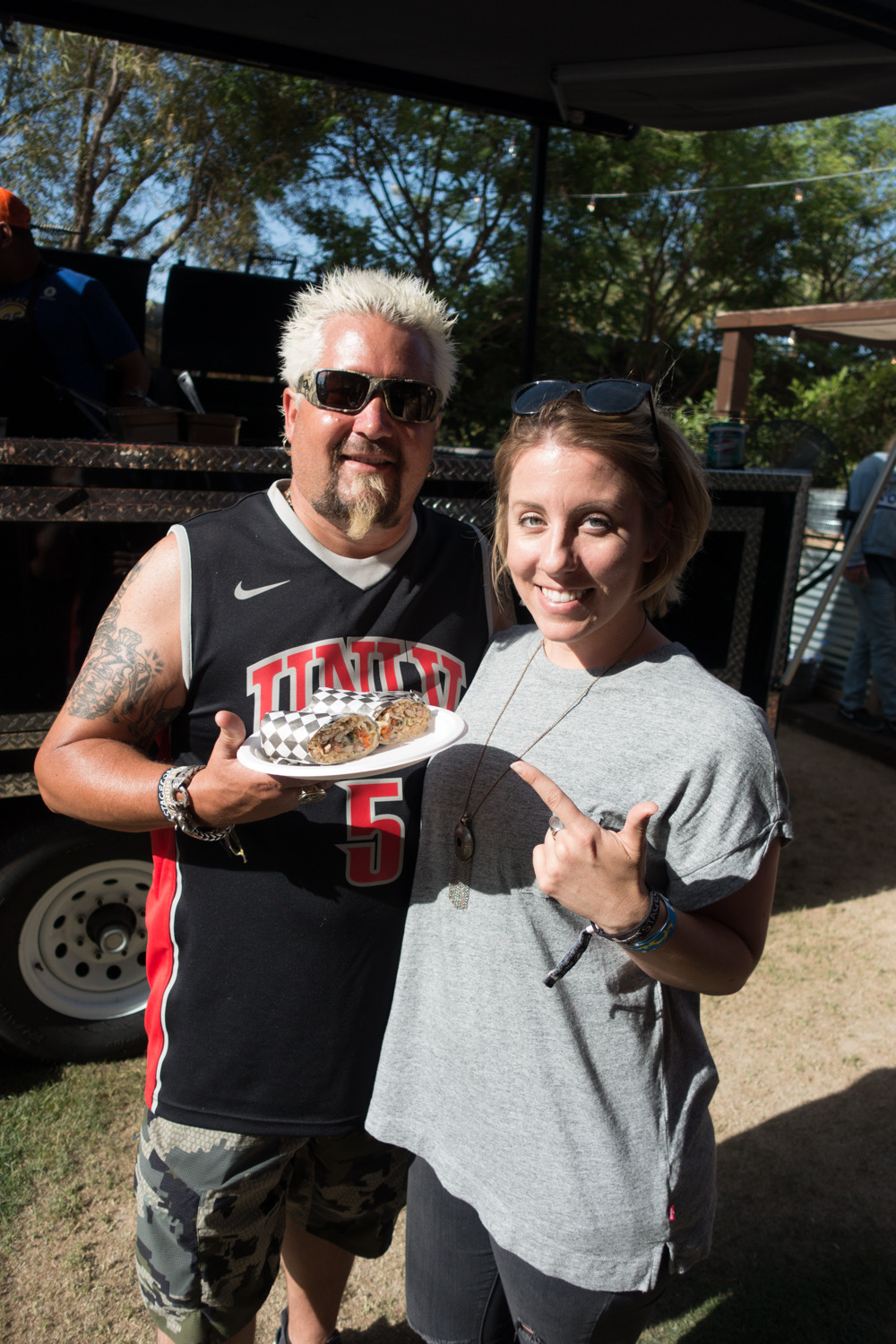 jackie hanging with guy fieri