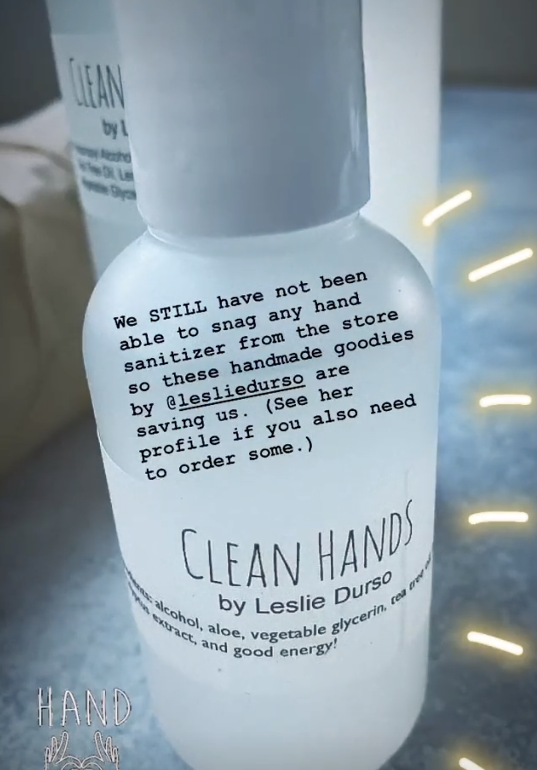 clean hands by leslie durso