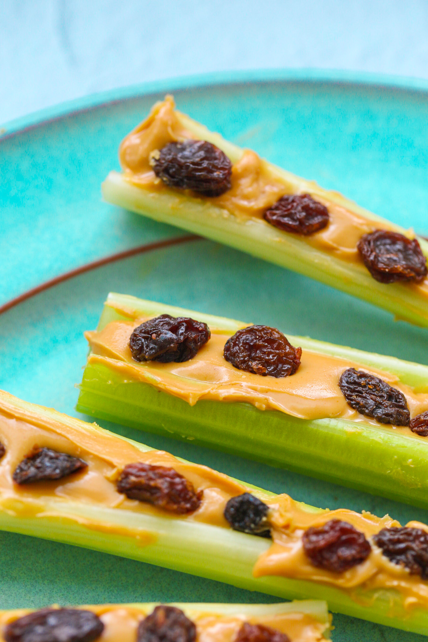 Ants On A Log Variations Easy Snack Recipe Healthyhappylife Com